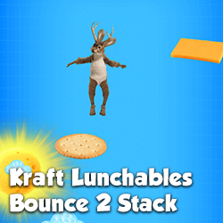 A fun jumping game for Kraft Lunchables