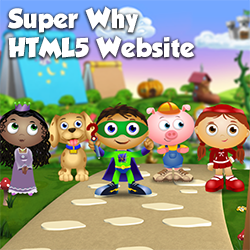 Super Why Website
